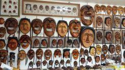 Hahoe Folk Village - Le maschere
