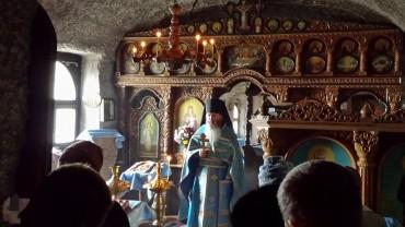 Orheiul Vechi - Messa ortodossa