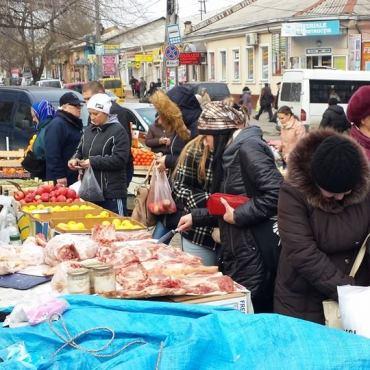 Mercato e vendita della carne