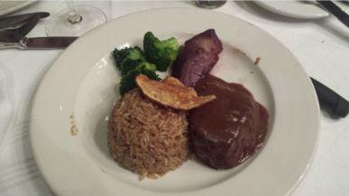 Orice con riso e verdure