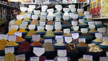 Spezie a Shiraz