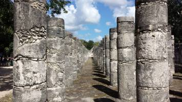 Chichén Itzá - Tempio dei guerrieri