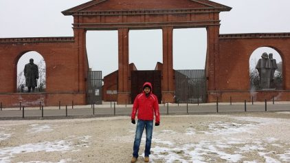 Neve al Memento Park