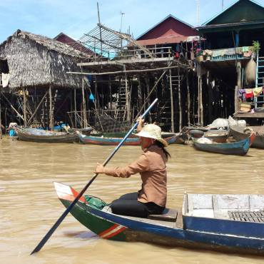 Palafitte sul Tonlé Sap