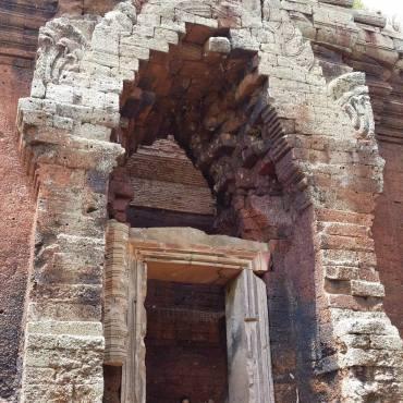 Tempio Phnom Da - Angkor Borei
