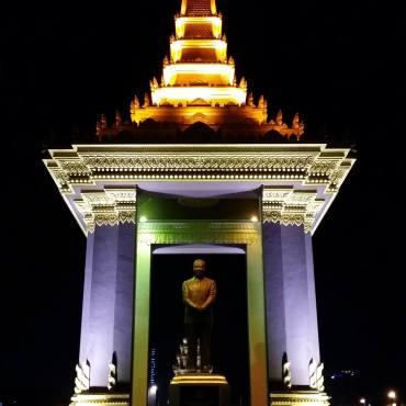 Monumento dell'Indipendenza - Phnom Penh