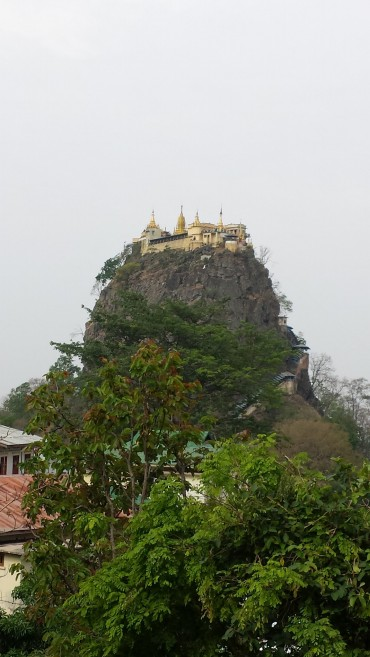 Monastero Taung Kalat - Monte Popa