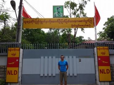 Casa di Aung San Suu Kyi