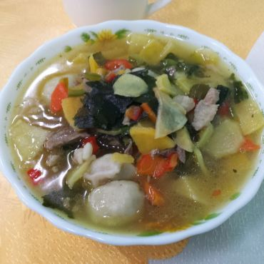 Bansh - zuppa di ravioli (buuz)