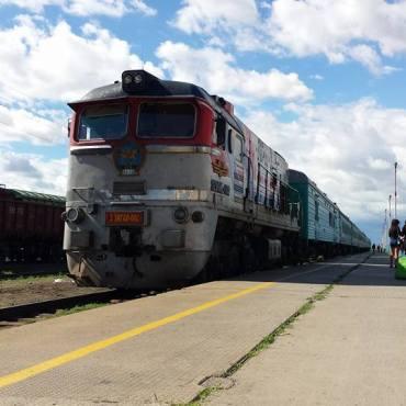 Treno della transmongolica