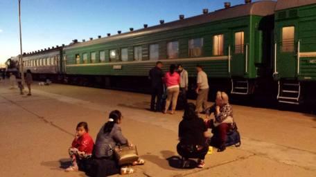 Notte sul treno della Transmongolica