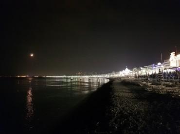 Spiaggia sulla Promenade