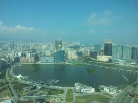 Skyline di Macao dalla Torre