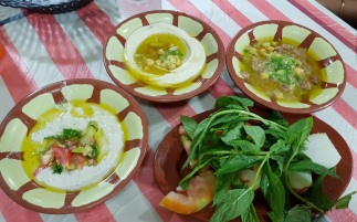 Hummus e Mutabbal