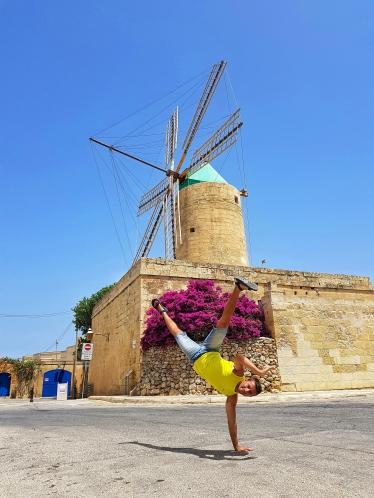 Mulino a vento Ta' Kao - Malta