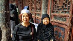 Donne cinesi musulmante