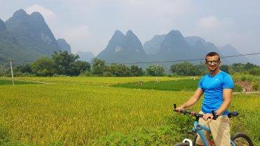 Risaie e picchi di Yangshuo