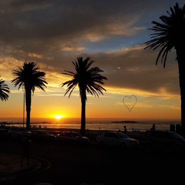Tramonto a Camps Bay