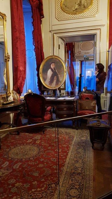 Interni Hofburg e ritratto di Sissi