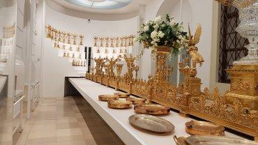Museo argenterie - Centrotavola in oro