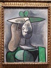 Donna col Cappello Verde - Picasso