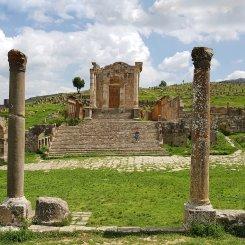tempio dei Severi - Djemila