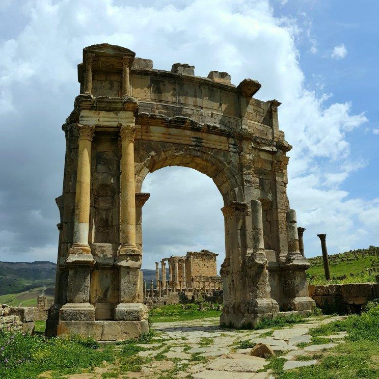 Arco di Caracalla - Djemila