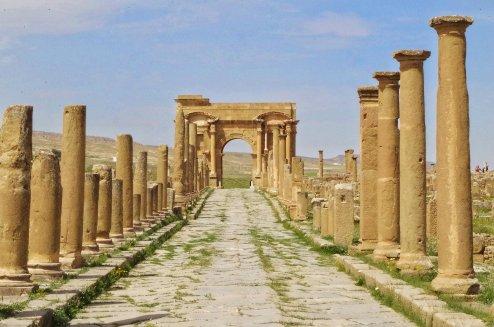 Arco di Traiano - Timgad
