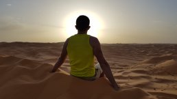 Alba nel Sahara