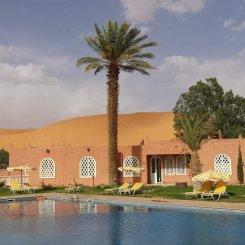 Le dune dall'albergo
