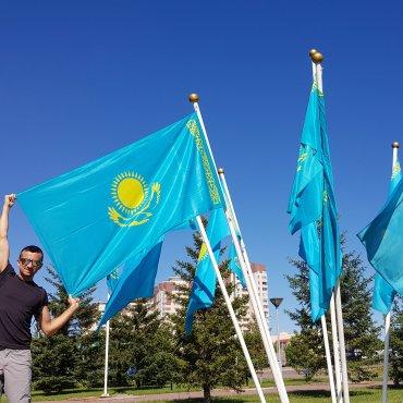 Bandiera kazaka