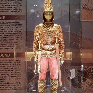 L'uomo d'oro - Museo nazionale