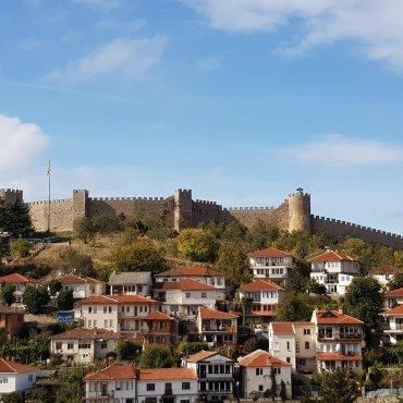 Ocrida e il castello