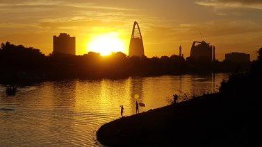 Tramonto sul Nilo Azzurro