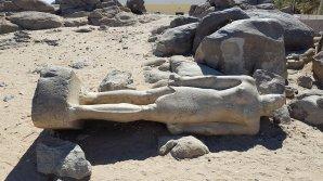 Statua del faraone Taharqa - Tombos