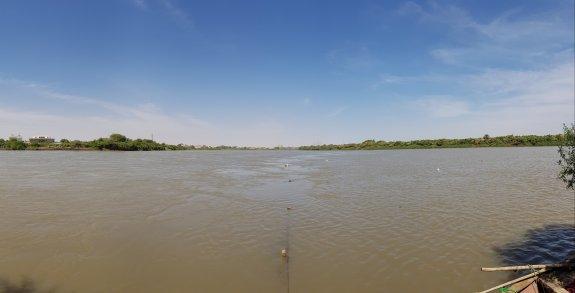 Confluenza del Nilo Bianco e Azzurro