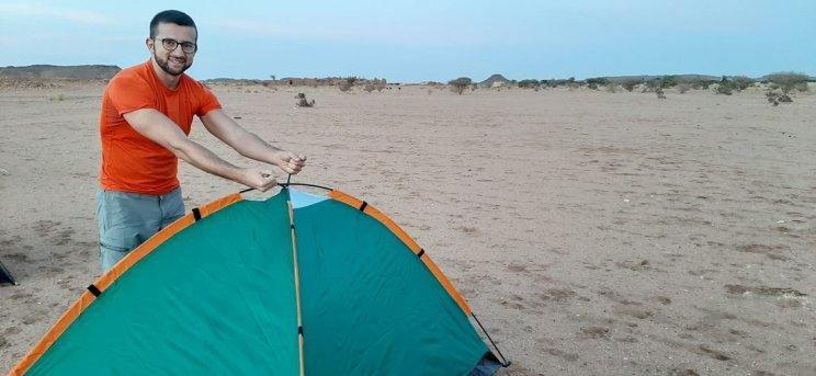 Montiamo la tenda l'ultimo dell'anno