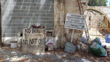 Muro di Nicosia parte greca
